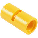LEGO Yellow Pin Joiner Round with Slot (29219 / 62462)