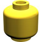 LEGO Yellow Plain Head (Recessed Solid Stud) (3626)