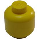 LEGO Yellow Plain Head (Solid Stud) (3626)