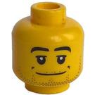 LEGO Jaune Plain Diriger avec Décoration (Goujon de sécurité)