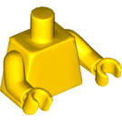 LEGO Yellow Plain Minifig Torso with Yellow Arms and Hands (76382)