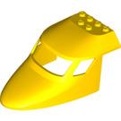 LEGO Yellow Plane Front 6 x 10 x 4 (87613)