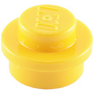 LEGO Yellow Plate 1 x 1 Round (6141)
