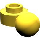 LEGO Plate 1 x 1 Round with Towball (Round Hole) (3614)