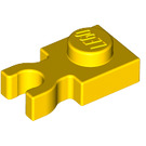 LEGO Yellow Plate 1 x 1 with Vertical Clip (Thick 'U' Clip) (4085)