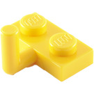 LEGO Yellow Plate 1 x 2 with Hook (6mm Horizontal Arm) (4623)