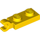 LEGO Yellow Plate 1 x 2 with Horizontal Clip on End (42923 / 63868)
