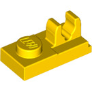 LEGO Yellow Plate 1 x 2 with Top Clip (92280)
