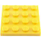 LEGO Yellow Plate 4 x 4 (3031)