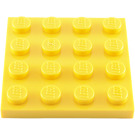 LEGO Yellow Plate 4 x 4 (3031)