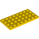 LEGO Yellow Plate 4 x 8 (3035)