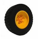LEGO Yellow Rim Ø 43.2 X 18 with Tire 62.4 x 20