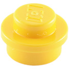 LEGO Yellow Round Plate 1 x 1 (6141)