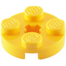 LEGO Round Plate 2 x 2 with Axle Hole (With '+' Axle Hole) (4032)