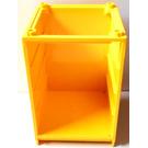 LEGO Yellow Scala Cabinet / Cupboard 6 x 6 x 7 2/3 (6874)