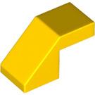LEGO Yellow Slope 1 x 2° 45 (28192)