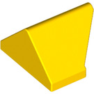 LEGO Yellow Slope 1 x 2 (45°) Double / Inverted with Inside Stud Holder (3049)