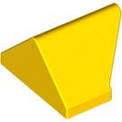 LEGO Gelb Steigung 1 x 2 (45°) Doppelt / Invertiert mit Innenbolzenhalter (3049)