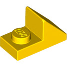LEGO Yellow Slope 1 x 2 (45°) with Plate (15672 / 92946)