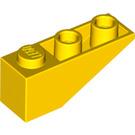 LEGO Yellow Slope 1 x 3 (25°) Inverted (4287)