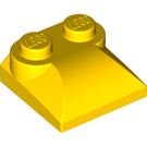 LEGO Yellow Slope 2 x 2 Curved with Curved End (47457)