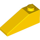 LEGO Yellow Slope 25° (33) 1 x 3 (4286)