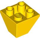 LEGO Yellow Slope 45° 2 x 2 Inverted (3676)