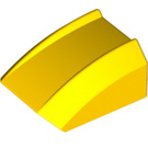 LEGO Yellow Slope Curved Top 2 x 2 x 1 (30602)