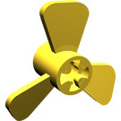 LEGO Yellow Small Boat Propeller with 3 Blades (6041)