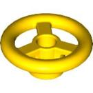 LEGO Yellow Small Steering Wheel (30663)