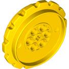 LEGO Yellow Sprocket Dia. 55,8 with Cross Hole (42529)
