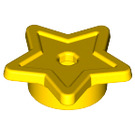 LEGO Yellow Star Symbol Star with tube And Hole Ø1.5 (28619)