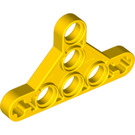 LEGO Yellow Technic Beam Triangle Thin Type 2 (99773)