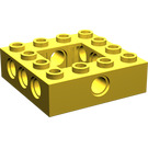 LEGO Yellow Technic Brick 4 x 4 with Open Center 2 x 2 (32324)