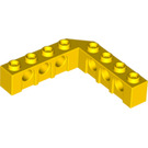 LEGO Yellow Technic Brick 5 x 5 Corner with Holes (28973 / 32555)