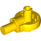 LEGO Yellow Technic Click Rotation Bushing with Two Pins (47455)