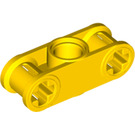 LEGO Yellow Technic Cross Block 1 x 3 with Two Axle holes (32184 / 42142)