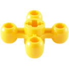 LEGO Yellow Technic Four Knob Gear (32072 / 49135)