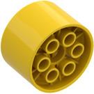 LEGO Yellow Technic Hub Ø30.4 X 20 (4266)