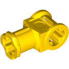 LEGO Yellow Technic Through Axle Connector with Bushing (32039)