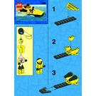 LEGO Yellow Tiger Set 1285 Instructions
