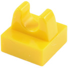 LEGO Tile 1 x 1 with Clip (No Cut in Center) (2555 / 12825 / 93794)