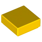 LEGO Yellow Tile 1 x 1 with Groove (3070)