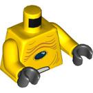 LEGO Torso with Black Stone (76382)