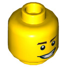 LEGO Town Master Plain Head (Recessed Solid Stud) (18886)