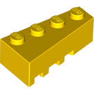 LEGO Yellow Wedge 2 x 4 Right (41767)