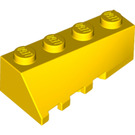 LEGO Yellow Wedge 2 x 4 Sloped Right (43720)