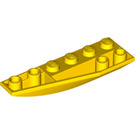 LEGO Yellow Wedge 2 x 6 Double Inverted Left (41765)