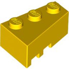 LEGO Yellow Wedge 3 x 2 Right (6564)