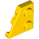 LEGO Yellow Wedge Plate 2 x 2 (27°) Left (24299)